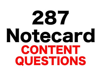 Ivanhoe 287 Content Questions Whiteboard Game