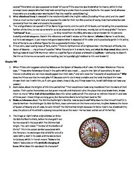 Ivanhoe Reading Guide