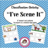 "Speech/Language Picture Classification Activity:  ""I've Scene It"""