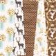 Ivory Rustic Wedding Digital Paper - Gold Glitter Wedding Seamless Patterns
