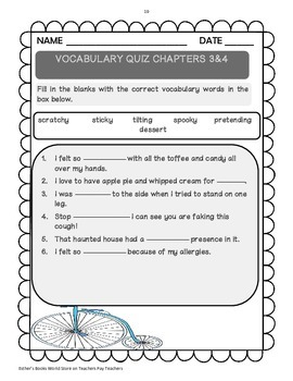 Ivy + Bean Book One - Novel Study Packet