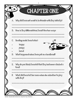 Ivy + Bean Book One - Novel Study Packet