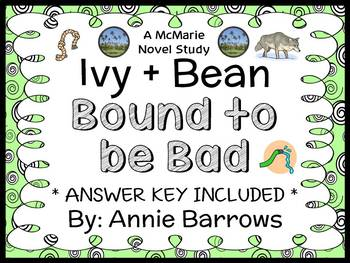 Ivy + Bean Bound to be Bad (Annie Barrows) Novel Study / Comprehension (24 pgs)