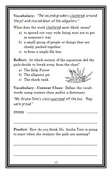 Ivy + Bean Doomed to Dance (Annie Barrows) Novel Study / Comprehension (28 pgs)