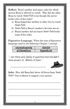 Ivy + Bean: Take the Case (Annie Barrows) Novel Study / Comprehension (28 pages)