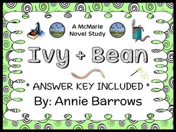 Ivy and Bean (Annie Barrows) Novel Study / Reading Compreh