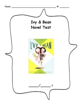 Ivy and Bean Book One - Novel Test