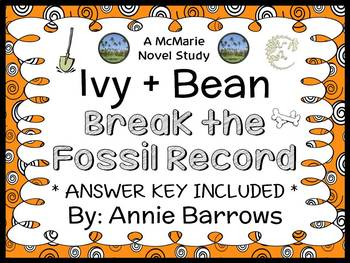 Ivy and Bean Break the Fossil Record (Annie Barrows) Novel