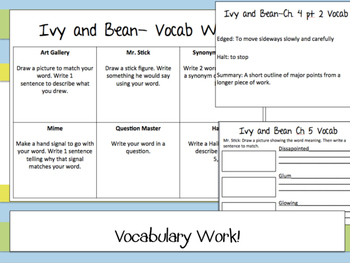 Ivy and Bean Guided Reading