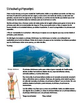 Ixtaccíhuatl and Popocatépetl
