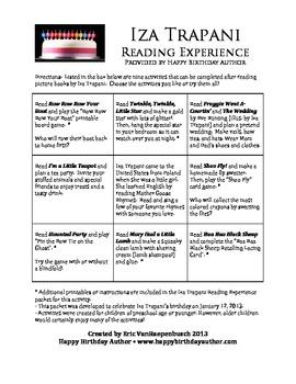 Iza Trapani Reading Experience