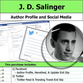 J. D. Salinger - Author Study - Profile and Social Media