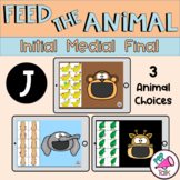 J Feed the Animal Words Initial Medial Final Articulation