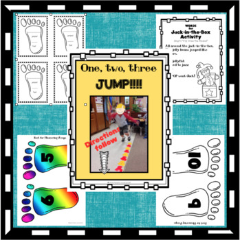 J IS FOR JACK-IN-THE-BOX, JUMP & JELLY BEANS: FOR PRESCHOOLERS & KINDERS
