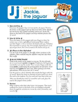 J: Jackie, the Jaguar
