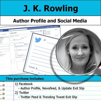 J. K. Rowling - Author Study - Profile and Social Media