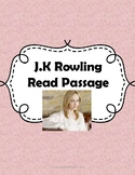J.K Rowling STAAR PREP Reading Passage
