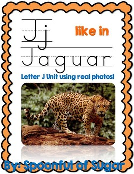 J Like in Jaguar (Letter J Unit Using Real Photos!)