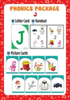 'J' Phonics Resource Package