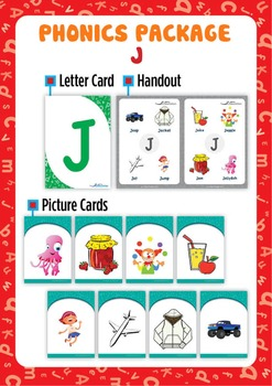 'J' Phonics Resource Package