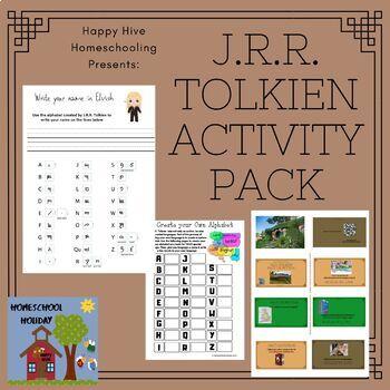 J.R.R. Tolkein Activity Pack