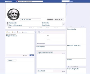 J. R. R. Tolkien - Author Study - Profile and Social Media