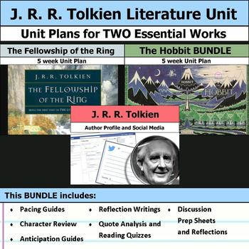 J. R. R. Tolkien Literature Unit - The Hobbit & The Fellowship of the Ring