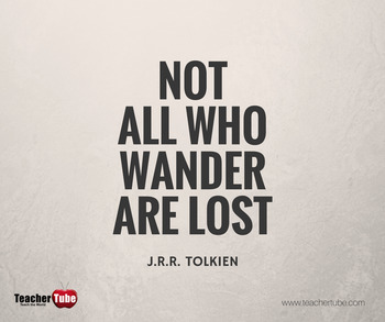J. R. R. Tolkien Quote for the Classroom