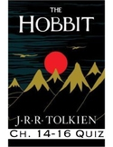 "J.R.R Tolkien's ""The Hobbit"" Ch. 14-16 Quiz (Answer Key included)"