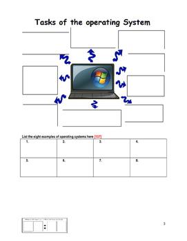 Grade 7 Year 7 ICT Computer Basics Operating Systems j ICT Workbook