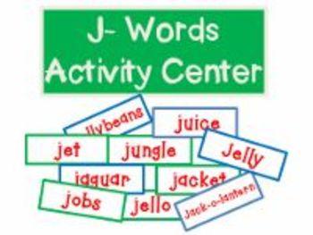 J-Words Activities Center