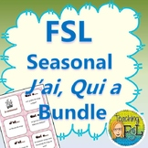 J'ai Qui A - French Oral Chain Games Bundle