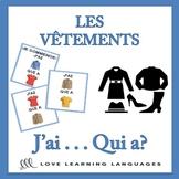 J'ai... Qui a? French Clothes Vocabulary Game - Les Vêtements