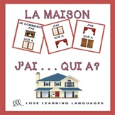 J'ai... Qui a? French house and home vocabulary game - La maison