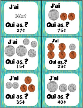 J'ai ... Qui as? (Money)