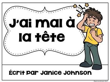 J'ai mal à la tête~ French Body Parts reader {en français}
