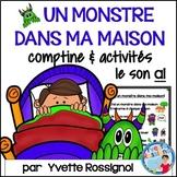 """Centres de littératie - Mots fréquents - Le son """"ai"""" -  French Phonics"""