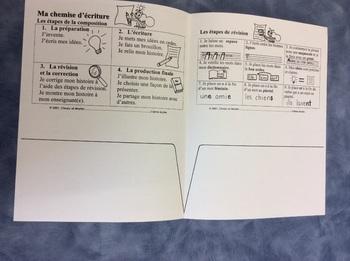 J'aime écrire- A FRENCH Writing Folder, Story Writing & Grammar - Primary Grades