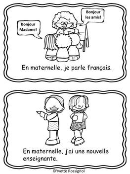 J'aime la maternelle! (Petit livre gratuit) 1er cycle, French Immersion