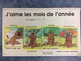 J'aime les mois de l'année- FRENCH Science Student Work Bo