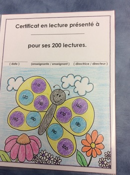 J'aime lire , A FRENCH Reading Folder Cover Page for Primary Students
