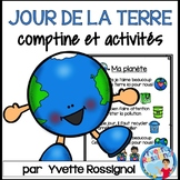 Comptine et activités pour LE JOUR DE LA TERRE | French EA