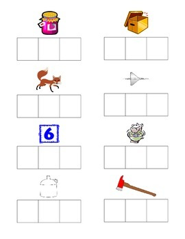 J and X Sound Box Worksheet