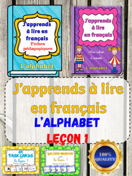 J'apprends à lire en français - Leçon 1 (French Phonics Activities)