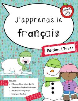 J'apprends le français - Édition: L'hiver -- French Winter