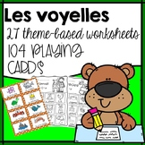 French phonics activities, French vowels, Les voyelles, Game