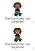 J'écoute - Mini-livre pour lecture guidée (french guided reading)