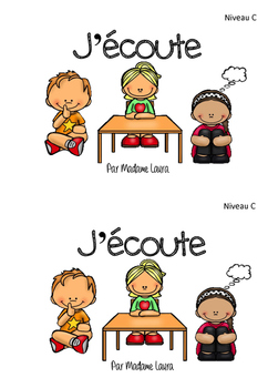 J'écoute - Mini-livre pour lecture guidée (french guided reading)