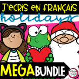 FRENCH Daily Writing - Growing MEGA Bundle
