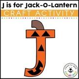 Letter J Craft {Jack-O-Lantern}